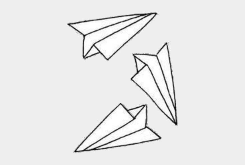 paper plane clipart, Cartoons - #paperairplane #paperairplanes #paper #plane #planes - Triangle