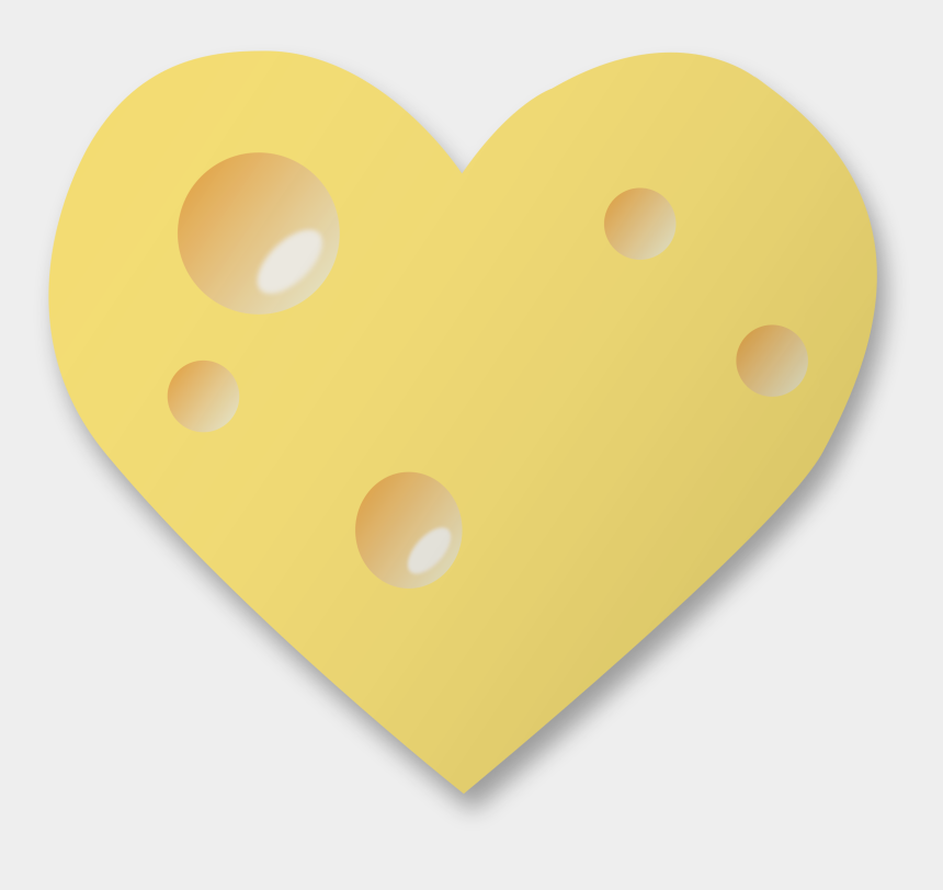dairy products clipart, Cartoons - Emmental Cheese Swiss Cuisine Swiss Cheese Dairy Products - Swiss Cheese Heart