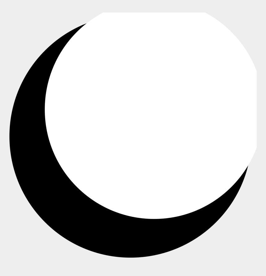 crescent moon clipart, Cartoons - File - Thedarksymbol - Crescent Moon Png
