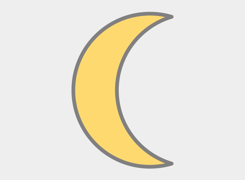 crescent moon clipart, Cartoons - Crescent Moon - 三日月 月 イラスト 商用 フリー