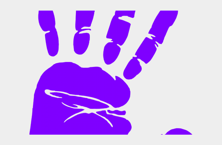 handprint clipart, Cartoons - Handprint Clipart Transparent Background - Stop Bullying Red Hand