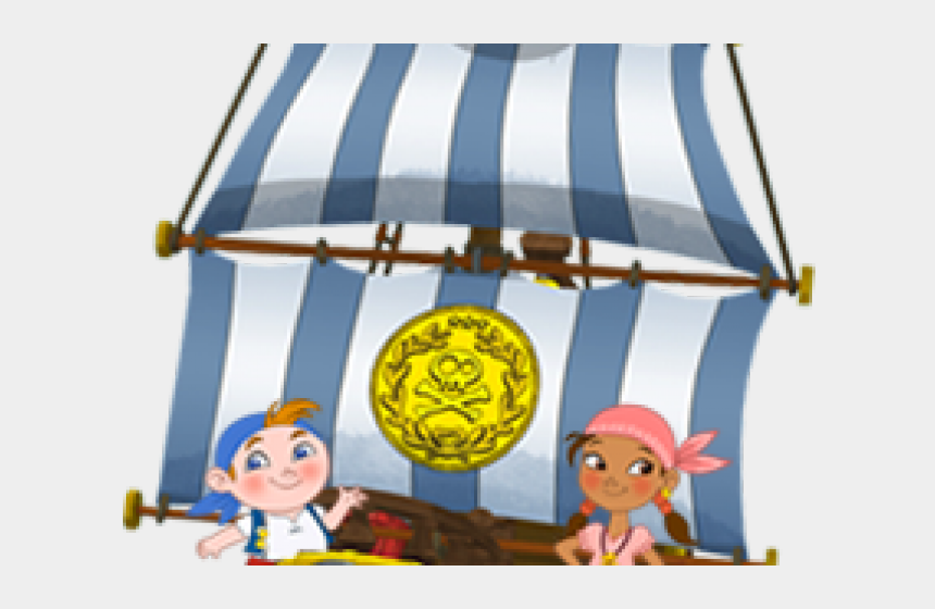 treasure clipart, Cartoons - Treasure Clipart Jake And The Neverland Pirates - Cartoon Jake And The Neverland Pirates Ship
