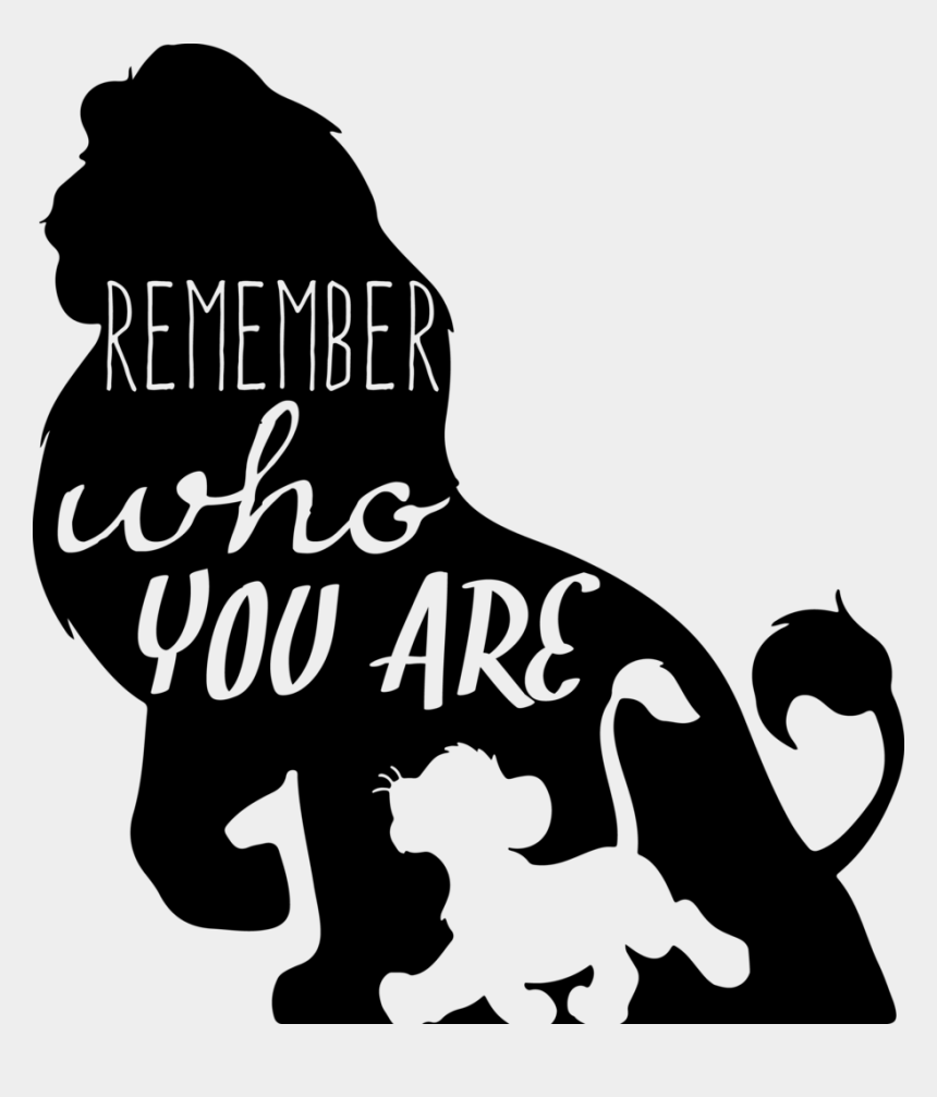 lion king clipart, Cartoons - Lion King Silhouette Png - Lion King Remember Who You