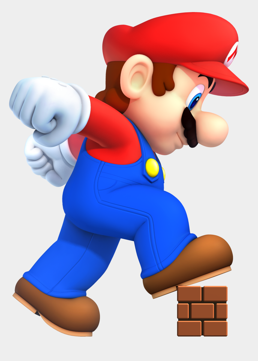big brother clipart, Cartoons - Mario Bros Clipart Big - New Super Mario Bros Mega Mario