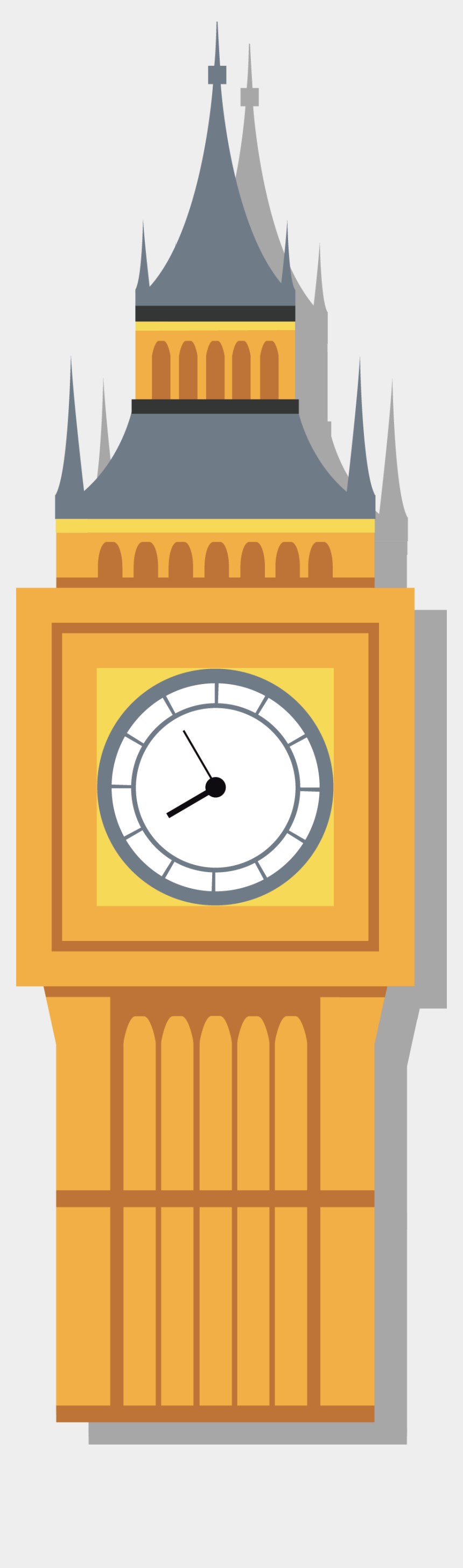 big ben clipart, Cartoons - Big Ben Eye Icon Flat Transprent Png Ⓒ - Big Ben Vector Png