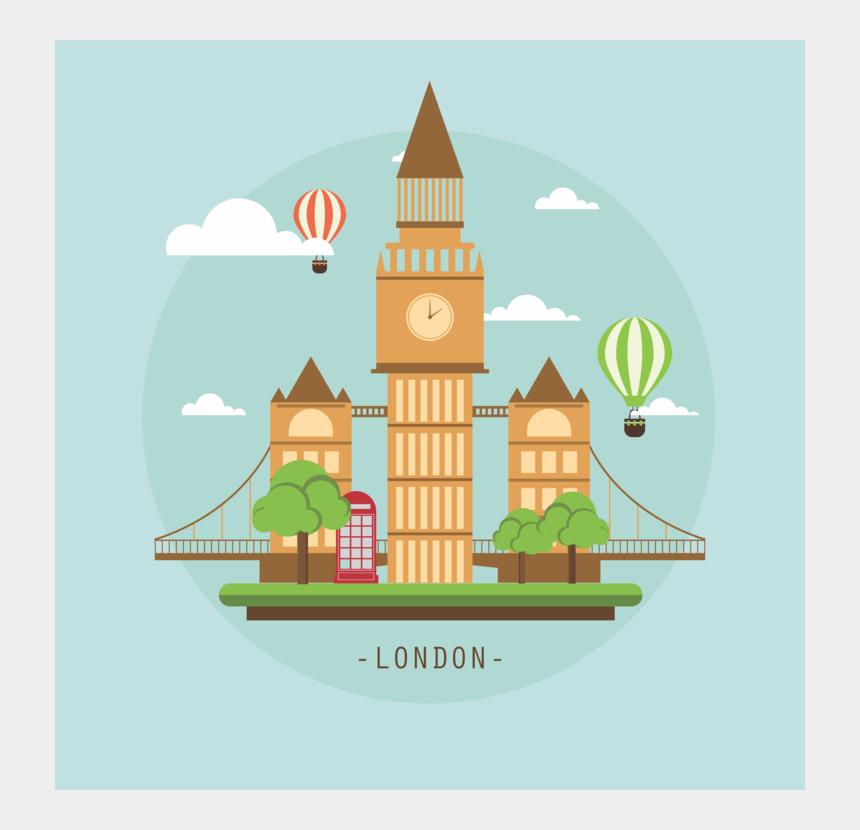 big ben clipart, Cartoons - Big Ben Clock Tower Hackney Carriage Landmark - Big Ben London Clipart
