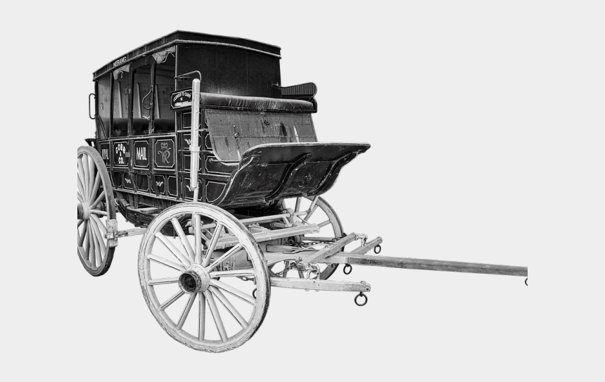 covered wagon clipart, Cartoons - ภาพ เกวียน ขาว ดำ