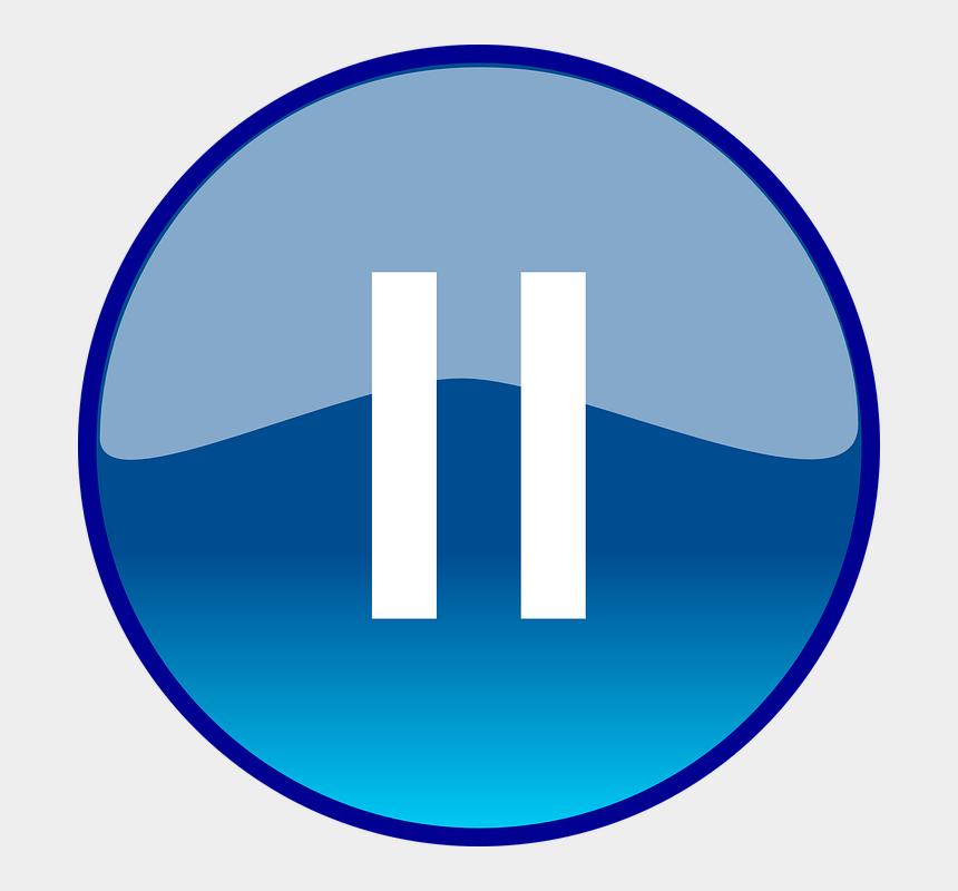 clipart start, Cartoons - Pause Button Clipart Start - Windows Media Player Next Button