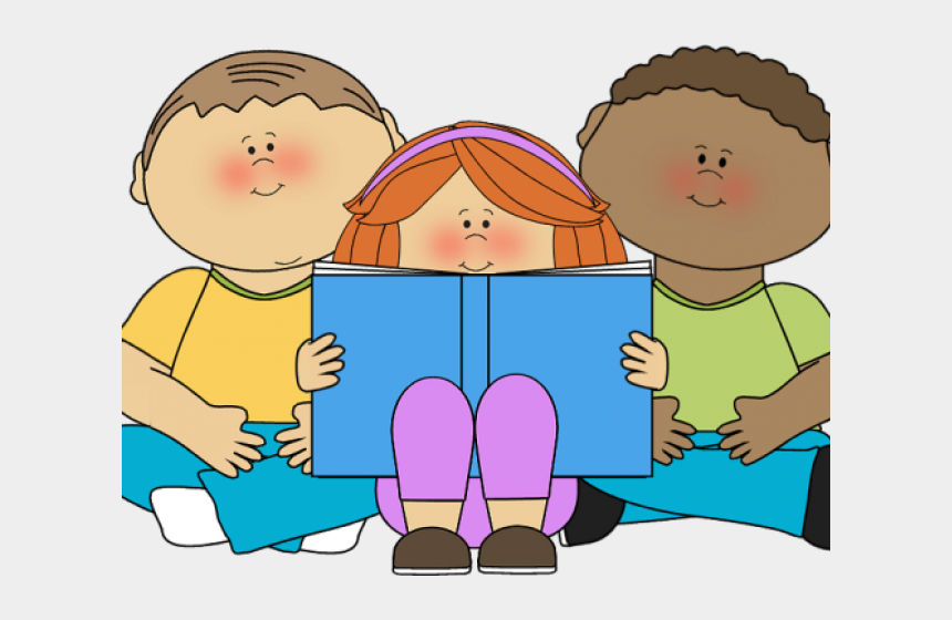 sharing clipart, Cartoons - Students Working Together Clipart - Kids Books Icon