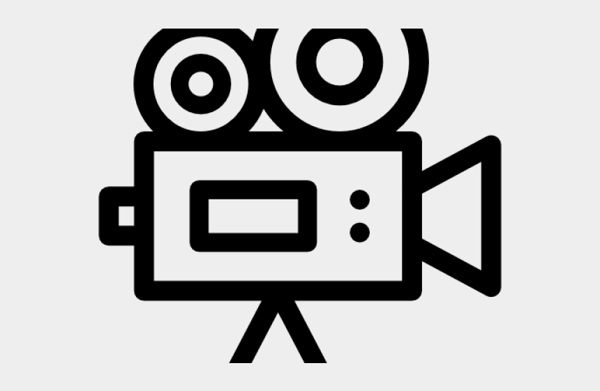 video camera clipart, Cartoons - Video Camera Clipart Transparent Background - Transparent Transparent Background Video Camera Icon