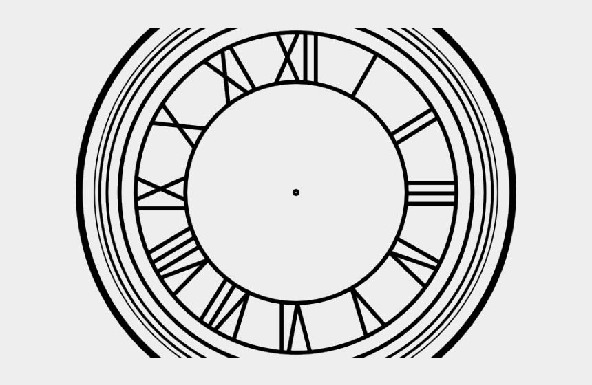 clock face clipart, Cartoons - Clock Face Clipart - Back To The Future Clock Face