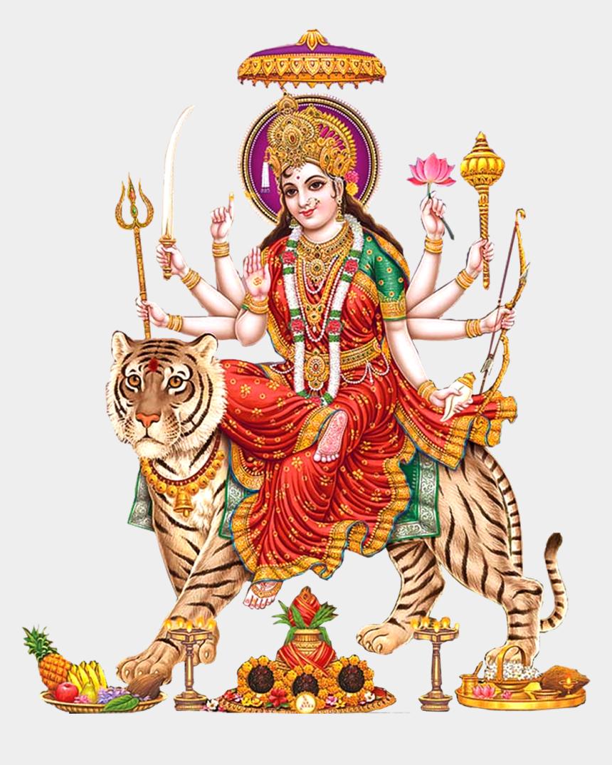 goddess clipart, Cartoons - Goddess Durga Maa Png Transparent Images - Durga Mata Png Hd