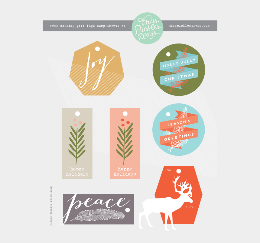 gift tag clipart, Cartoons - Free Printable Gift Tags - Graphic Design