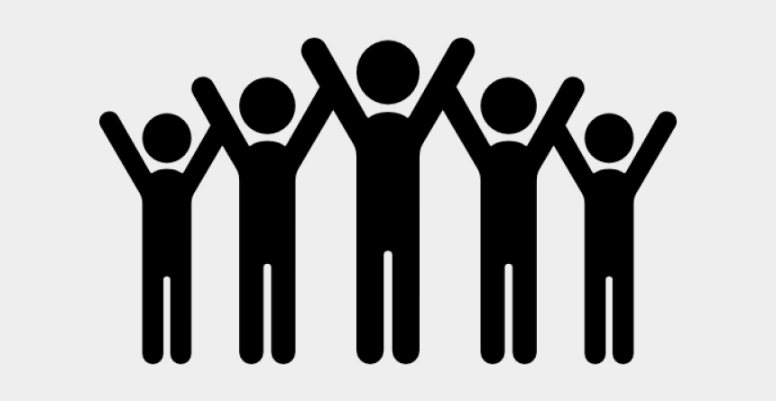 stick person clipart, Cartoons - Person Icons Stick Figure - Group Of People Stick Figures