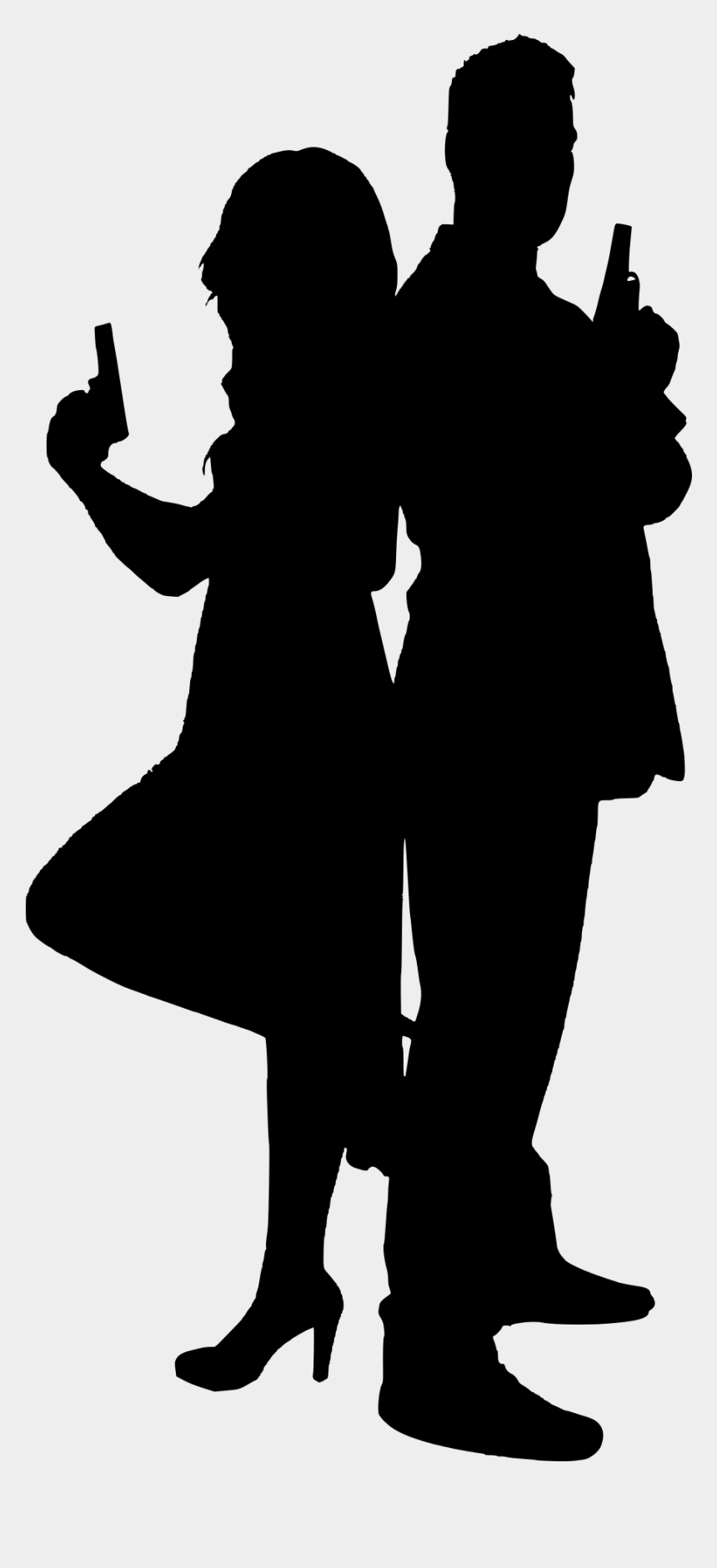 James Bond Silhouette Png Transparent Little Girl