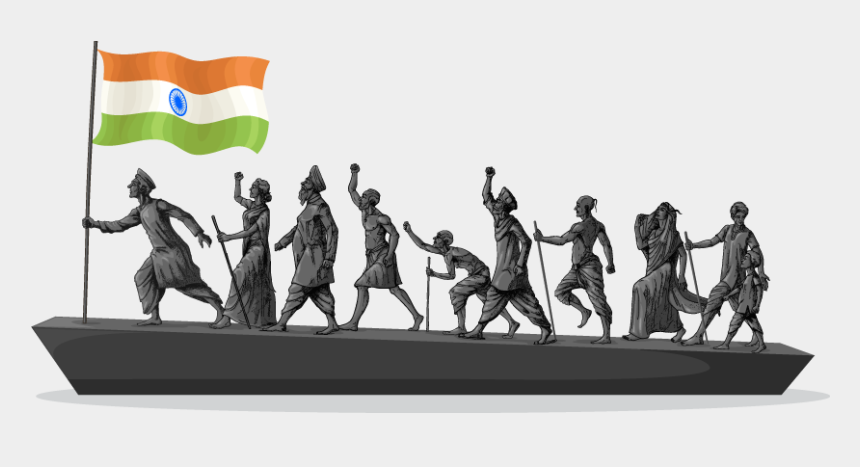 freedom clipart, Cartoons - Independence Day Clipart Indian Freedom Struggle - Indian Freedom Fighters Png
