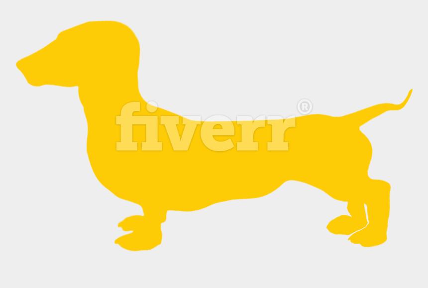 dachshund clipart, Cartoons - Big Worksample Image - Dachshund