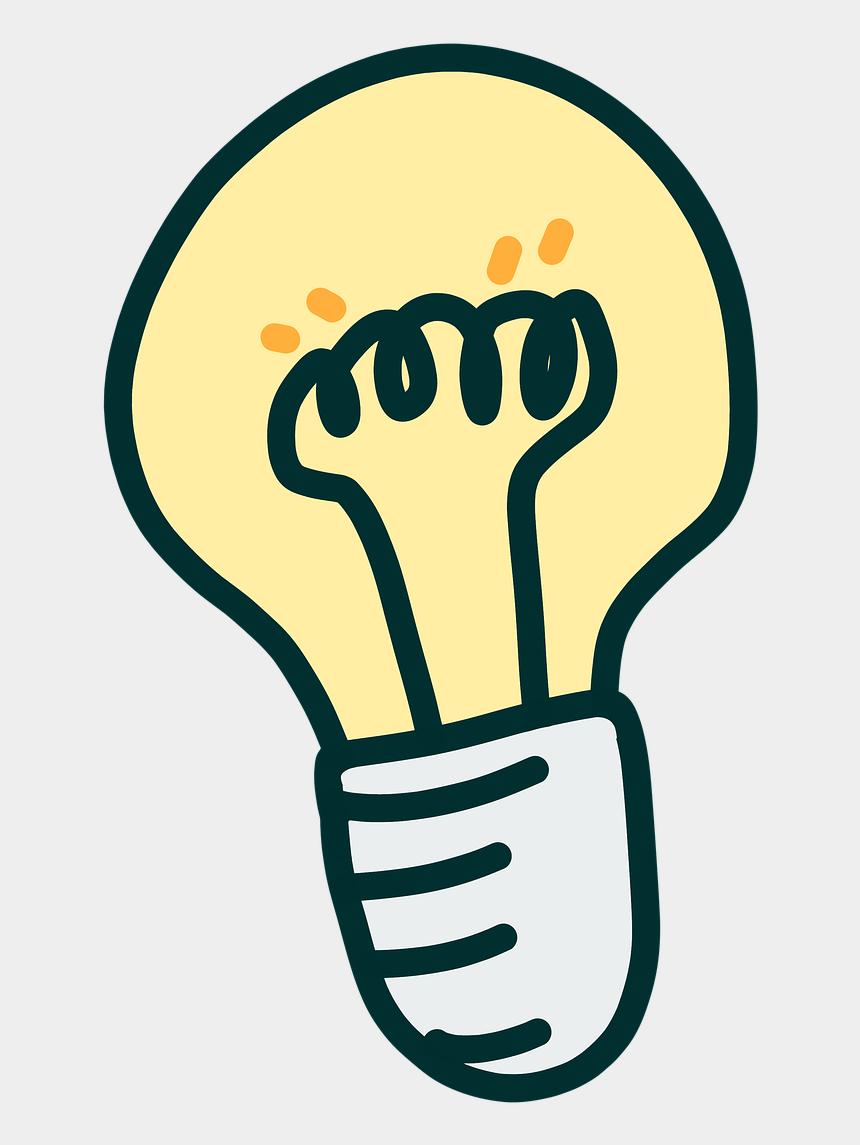 light bulb idea clipart, Cartoons - Light Idea Lamp - Light Bulb Idea Png