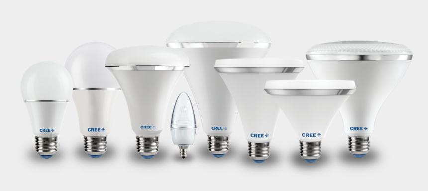 light bulb clipart black and white, Cartoons - Led Light Light-emitting Diode Lamp Lighting Incandescent - Led Bulb Png Hd
