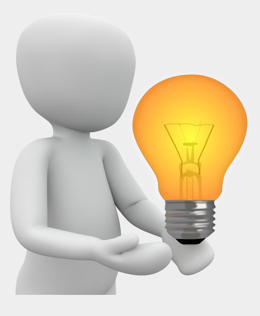 light bulb idea clipart, Cartoons - Idea Light Bulb Lit Bright Png Image - Take Home Message Png