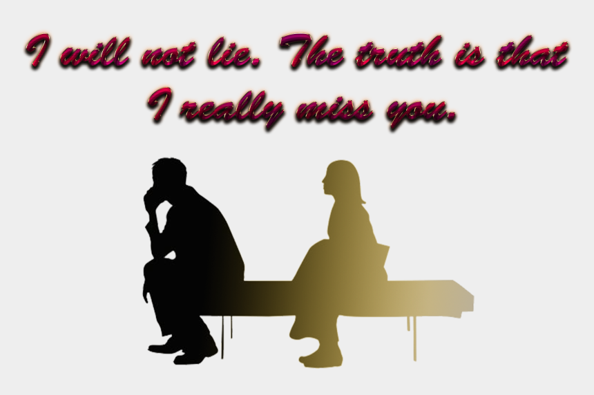 miss you clipart, Cartoons - Silhouette