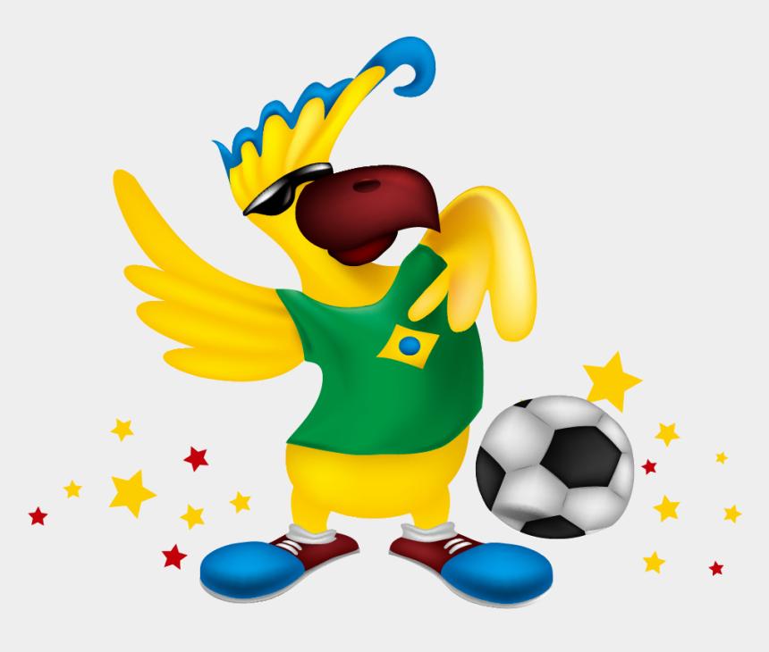 brazil clipart, Cartoons - Fifa World Cup Parrot Clip Art Ⓒ - 2014 Fifa World Cup