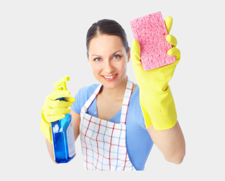 cleaning lady clipart, Cartoons - Cleaning Lady - Home Cleaning Lady