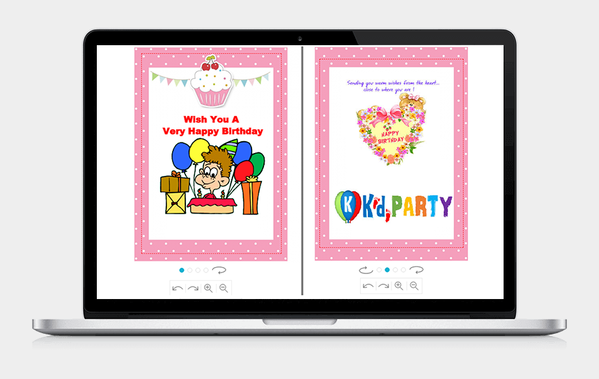create your own clipart online free, Cartoons - Online Birthday Card Designer Tool - Magento Visual Product Configurator