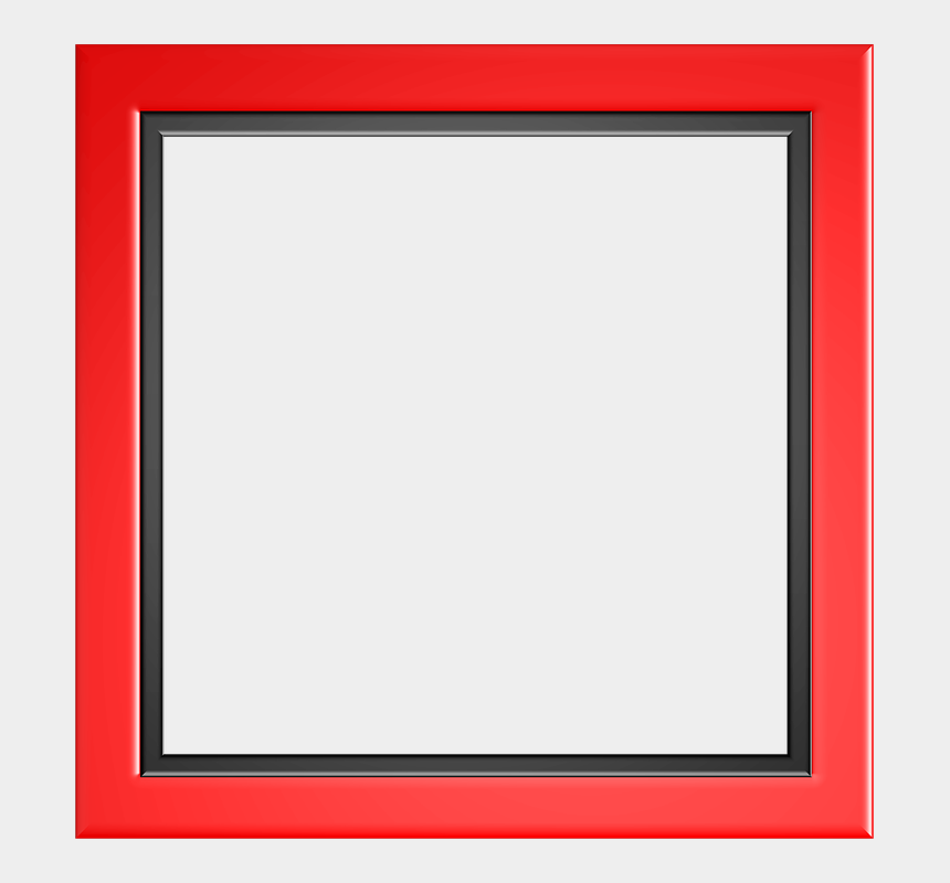 border frame clipart, Cartoons - Red Border Frame Png Photo - Red Abstract Border