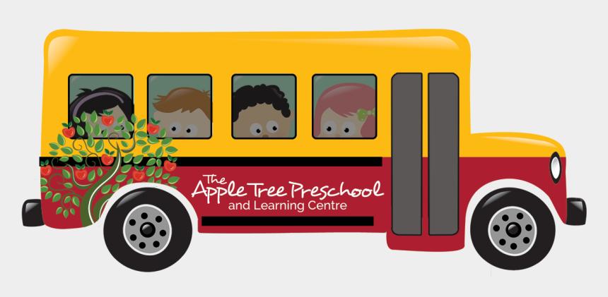 header clipart, Cartoons - At Bus Logo Header - Back To School