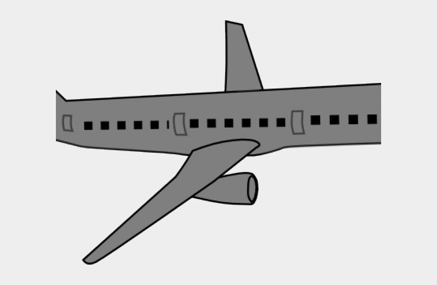 airplane with banner clipart, Cartoons - Airplane Clipart Grey - Boeing 737 Next Generation