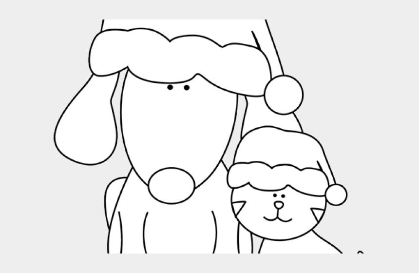 christmas dog clipart, Cartoons - Christmas Dog Clipart - Cartoon