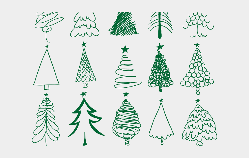 drawn christmas ornaments vector sketch christmas tree drawing cliparts cartoons jing fm drawn christmas ornaments vector