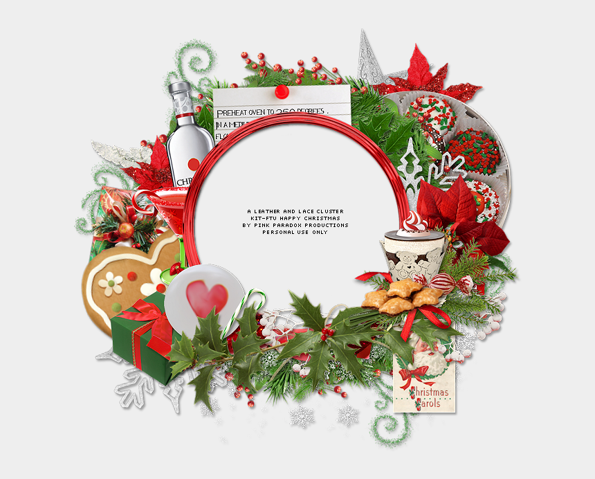 happy holidays free clipart, Cartoons - Happy Christmas Tag And Free Cluster Frame - Happy Christmas Photo Frame