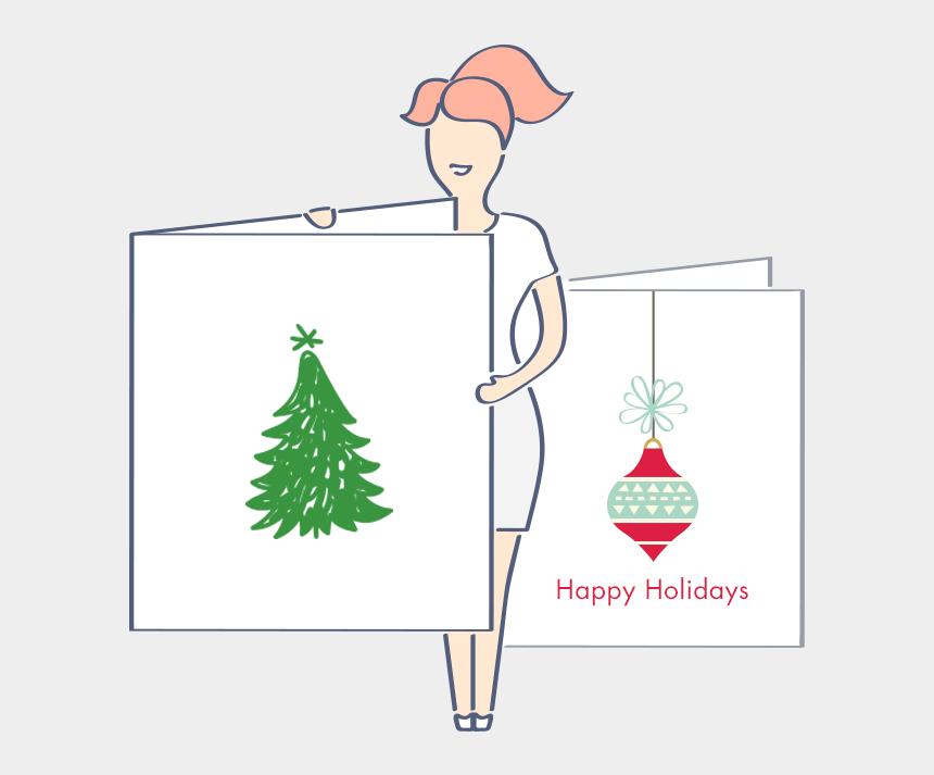 christmas greetings clipart, Cartoons - Christmas Cards Templates Png - Christmas Card Design Tools