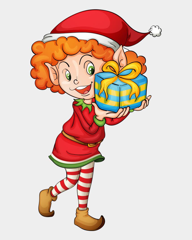 christmas elves clipart, Cartoons - Christmas Elves Clipart Png - Clip Art Girl Elf