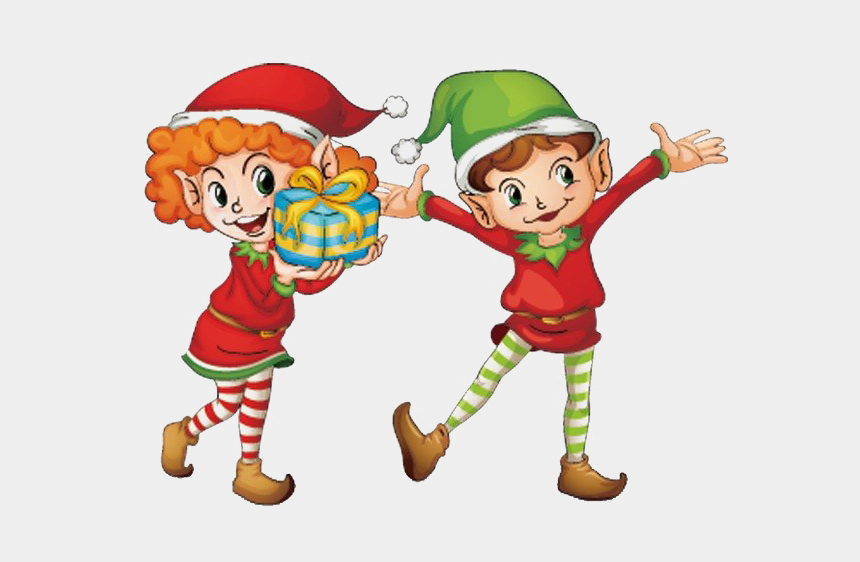 christmas elf clipart, Cartoons - Christmas Elf Png Image Background - Cute Christmas Elf Clipart