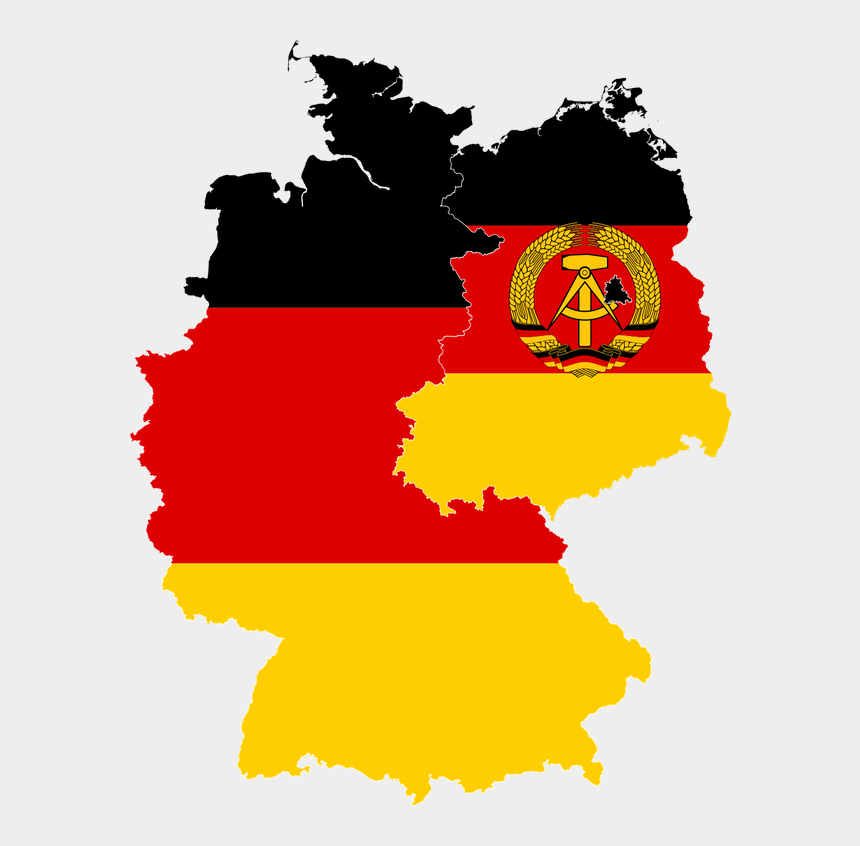 great clipart, Cartoons - Germany Clipart Great - East Germany And West Germany Flags