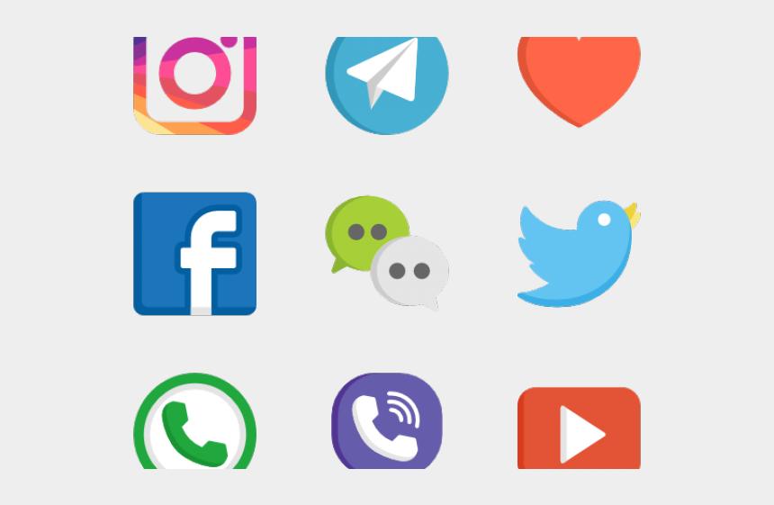 media clipart, Cartoons - Social Media Clipart Transparent - Icon Social Media Png