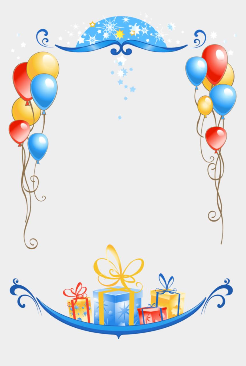 40th birthday clipart, Cartoons - Birthday Frames Free Download Clip Art Free Clip Art - Happy Birthday Frame Png