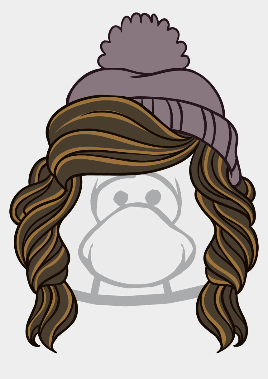 snow day clipart, Cartoons - Snow Day Png - Club Penguin Black Hat
