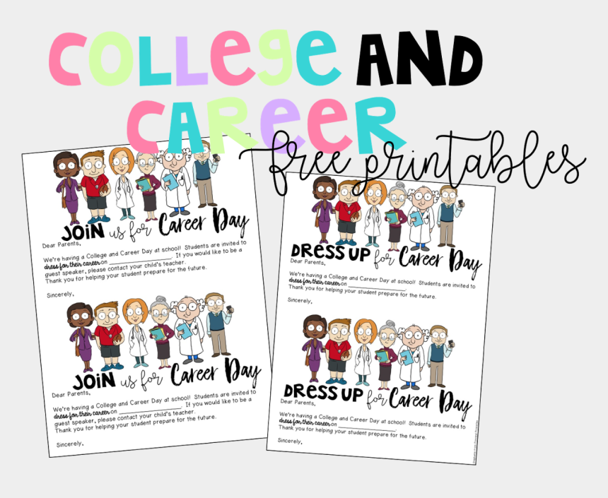 career day clipart, Cartoons - One Parent Letter Asks For Parents To Sign Up To Be - Career Day Dress Up Letter