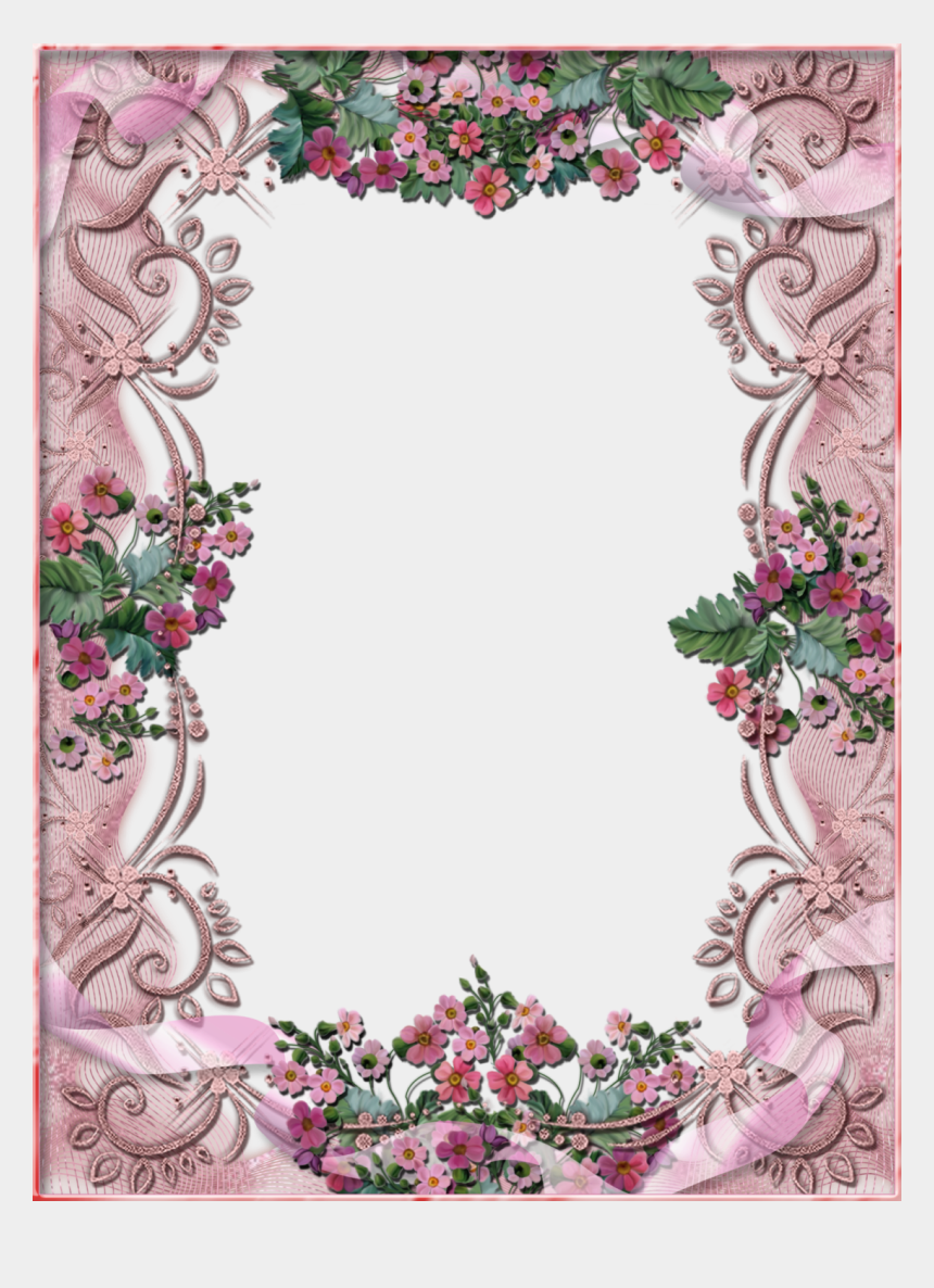 free flower clipart borders, Cartoons - Free Flower Frame For My Picture Download - Beautiful Big Frames