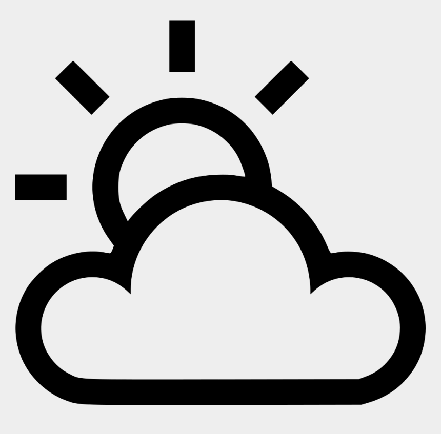 cloudy day clipart, Cartoons - Partly Cloudy Sunny Svg Png Icon Free Download - Partly Cloudy Icon Png
