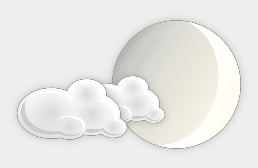 cloudy day clipart, Cartoons - Moon And Clouds - Background Images For Cloudy Weather
