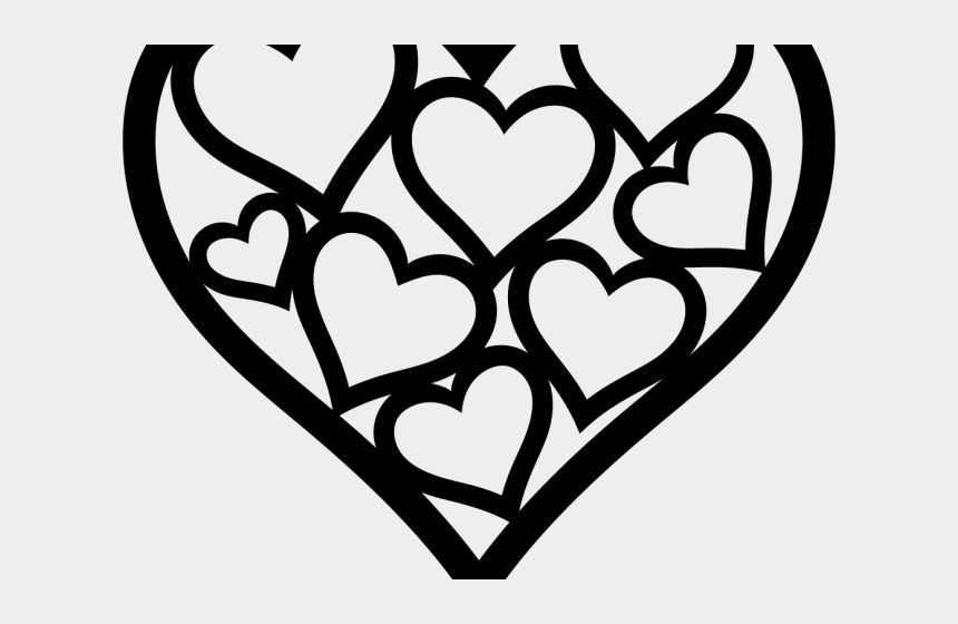 valentines day clipart black and white, Cartoons - Valentines Day Clipart Heart Shaped Cookie - Free Valentine Svg Files For Cricut