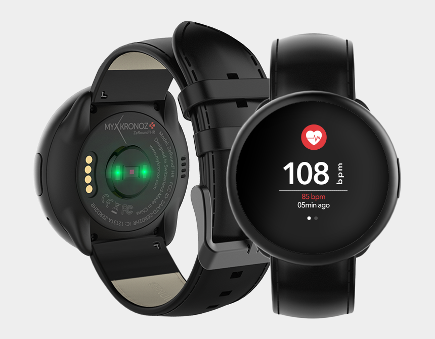 heart rate clipart, Cartoons - Heart Rate Monitor Png - Smart Watch With Heart Rate Sensor