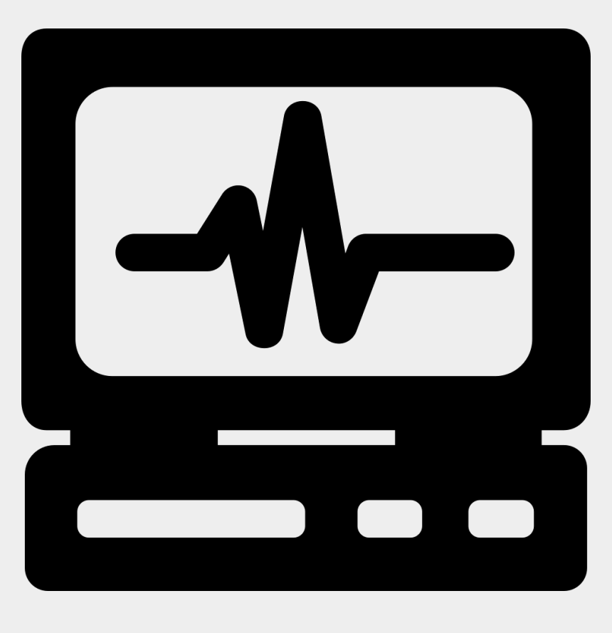 heart beat clipart, Cartoons - Heart Rate Monitor Png - Electrocardiography