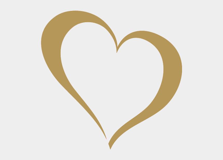 gold heart clipart, Cartoons - Gold Heart - National Nonprofit Day 2018