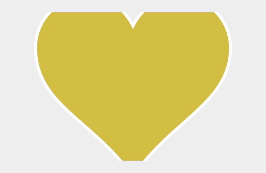 heart beat clipart, Cartoons - Yellow Clipart Heart - Yellow Heart Emoji Twitter